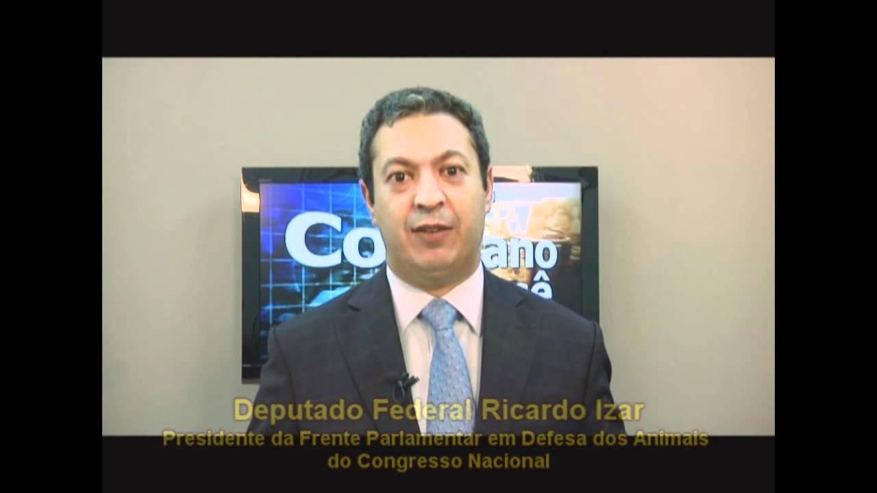 Dep. Ricardo Izar Jr. apoia o Movimento Crueldade Nunca Mais