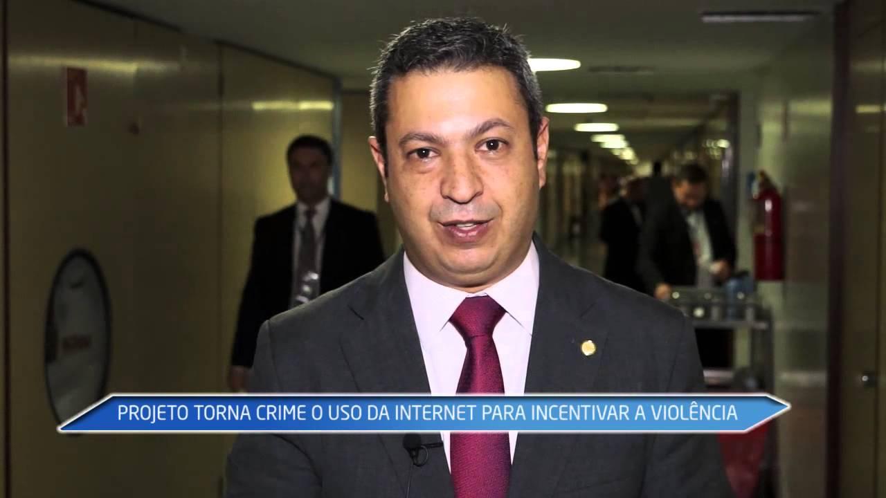 Projeto torna crime o uso da Internet para incentivar a violência