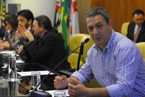 Dep. Ricardo Izar na CPI contra exploração sexual infantil