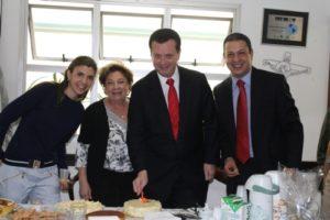 Reunião com o Prefeito de São Paulo, Gilberto Kassab