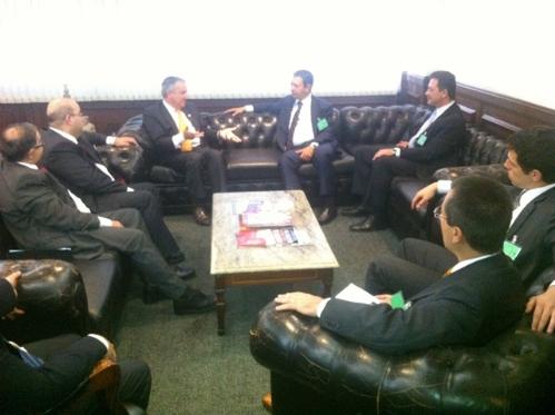Reunião no Conselho Regional dos Corretores de Imóveis do estado de São Paulo (CRECI)