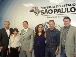 08 1 300x225 - Audiência na Secretaria Estadual de Saúde para tratar de demandas do Município de Serra Negra