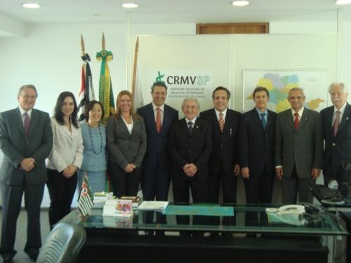 Cerimônia de posse da Diretoria e Conselheiros do CRMV-SP