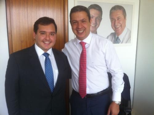 Dep. Ricardo Izar participa do 2º Encontro Nacional de Novos Prefeitos e Prefeitas em Brasília