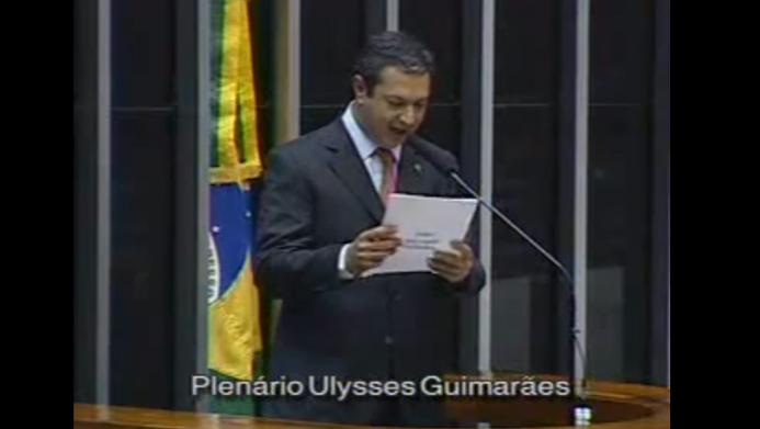 Pronunciamento do Deputado Ricardo Izar Jr