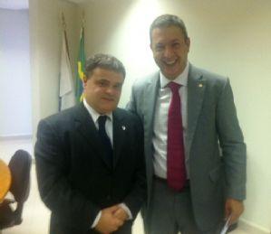 Dep. Ricardo Izar participa de audiência com o Presidente do IBAMA, Dr. Volney Zanardi