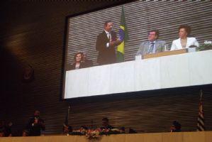 Sessão Solene em homenagem à Associação