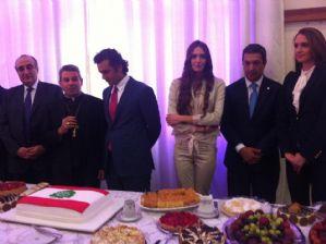 Dep. Ricardo Izar participa das comemorações pela independência no Líbano