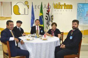 Dep. Ricardo Izar participa de reunião no Rotary Club de São Paulo