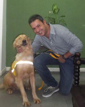 Dep. Ricardo Izar participa de reunião sobre o projeto Cão Guia para deficientes visuais