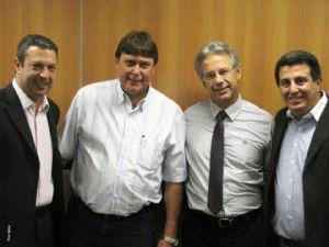 Dep. Ricardo Izar participa de audiência na Secretaria de Saneamento e Recursos Hídricos do Estado de São Paulo