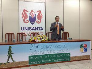 Dep. Ricardo Izar esteve no 21º Congresso de Biólogos