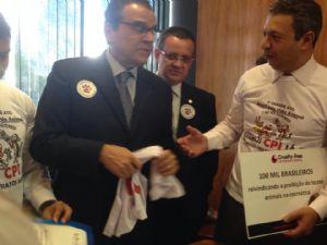 Dep. Ricardo Izar consegue pauta para CPI dos Maus-tratos.
