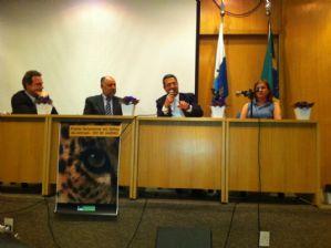 Lançamento da Frente Parlamentar em Defesa dos animais no Rio de Janeiro.