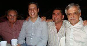 Deputado Ricardo Izar esteve em Luiziânia no dia 22/12/2011.