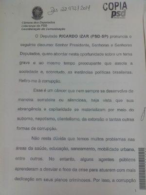 RICARDO IZAR COBRA MELHORIAS DO TRABALHO PRESTADO POR CONCESSIONÁRIAS DE SERVIÇO PÚBLICO E AGÊNCIAS REGULADORAS