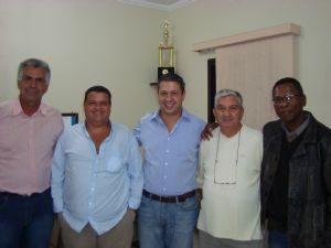 Dia 27/01/12 o Deputado Ricardo Izar visitou a região do ABC Paulista.