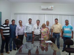 Ricardo Izar Jr visita a cidade de Borebi