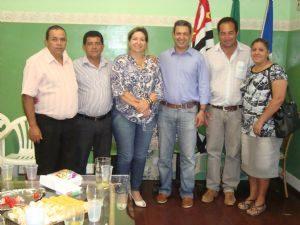 Deputado Ricardo Izar esteve em Presidente Alves