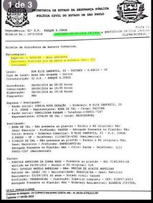 RICARDO IZAR ABRE BOLETIM DE OCORRÊNCIA PARA DENUNCIAR DEMOLIÇÃO DE CASA COM CERCA DE 40 GATOS EM TATUAPÉ