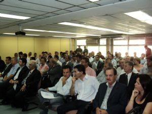 Audiência na Secretaria de Agricultura do Estado de São Paulo