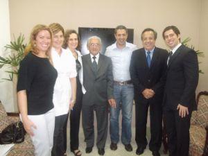 Dep. Ricardo Izar Jr. e Conselho Regional de Medicina Veterinária do Estado de São Paulo