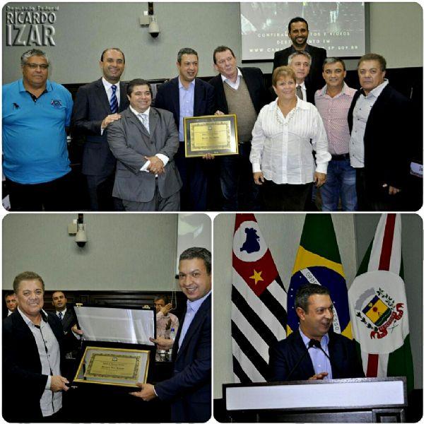 Deputado Federal Ricardo Izar recebe Título de Visitante Ilustre de Bebedouro