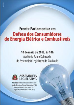 Lançamento da Frente Parlamentar em Defesa do Consumidor de Energia Elétrica e Combustível