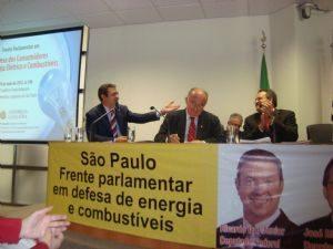 Lançamento da Frente Parlamentar em Defesa dos Consumidores de Energia Elétrica e Combustíveis ALESP – 10/05/2012