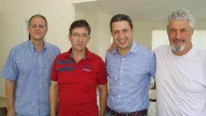 Ricardo Izar celebra aniversário de Serra Negra