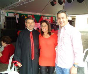 Dep. Ricardo Izar participa da Quinta Festa Nossa Senhora do Líbano