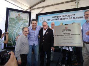 Deputado Ricardo Izar participa da inauguração do Complexo Padre Adelino