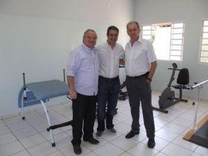 Dep. Ricardo Izar participa da inauguração do centro de fisioterapia do Posto de Atendimento à Saúde de Bocaína/SP