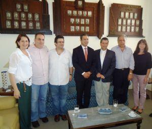 Dep. Ricardo Izar participa de reunião no Lar Sírio