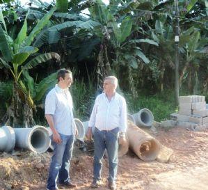 Dep Ricardo Izar destina recursos para a melhoria da infraestrutura urbana em Juquiá