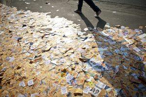 Izar orienta suas equipes a promover uma eleição sem lixo nas ruas