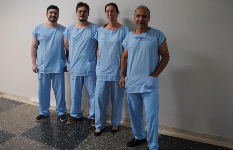 a equipe 790x505 01112018175940 - Cirurgia contra parkinson passa a ser realizada pelo SUS Campinas